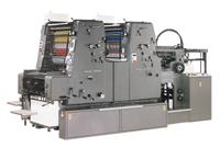 菊半2色両面印刷機